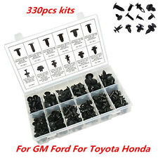 330pcs Clip Car Push-Type Pin Pannel Retainer Assortment Trim For Toyota Honda
