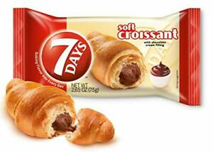 7Days Soft Croissant, Chocolate Filling (Pack of 6)