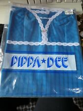 Vintage 1960's Peacock Blue Petticoat/Slip by PIPPA DEE. 36, NEW!
