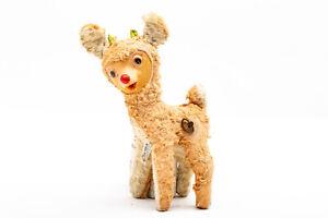 Vintage Rudolph the Red Nosed Reindeer Plush Gund Mfg Co Rushton Rubber Faced