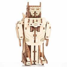 Gigamic- Robot-Avion transformeur Maquette 3D Mobile en Bois PWRO