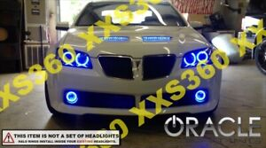 ORACLE Head/Foglight HALO RING KIT for Pontiac G8 08-09 BLUE LED Angel Eyes