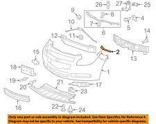 Chevrolet GM OEM Malibu Front Bumper - Front fascia outer bracket Left 25925960