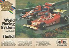 X9572 POLISTIL World Racing System - I bolidi - Pubblicità 1978 - Advertising