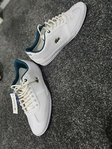 Lacoste Misano Sport 318 Trainers, White, UK Size 7