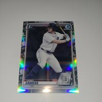 2020 Bowman Chrome Draft Refractors #BD62 Daniel Cabrera TIGERS 2ND RD PICK 20''