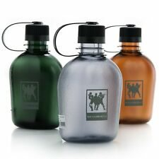 1000ML Light Grey Soldiers Army Military Water Bottle Canteen Tritan Leak Proof