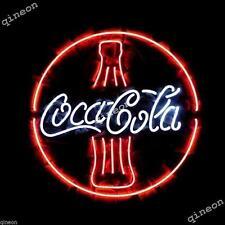 New COKA-COLA COKE BOTTLE Real Neon Sign Soda Drink Advertising Light Fast Ship