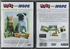 MIEZ UND MOPS   Zwei tierische Freunde  (DVD)  NEU  OVP