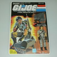 *RECARDED* 1986 GI Joe Mainframe Figure Complete Sealed *CUSTOM File Card Back*