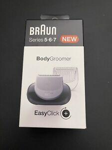 Braun Bodygroomer EasyClick Aufsatz für Series 5,6,7 Elektrorasierer