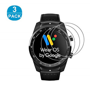 RBEIK Ticwatch Pro Screen Protector Glass - [3PACK] Premium 9H Hardness Tempered