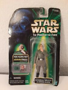 Star Wars Admiral motti Hasbro 1999 with comm tech to make figure talk
