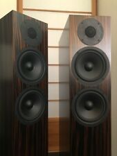 Two PMC fact.8 floor speakers (color Tiger ebony), excellent condition