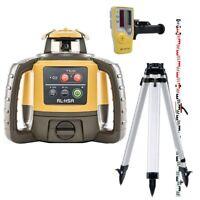 Topcon RL-H5A Rotating Laser Level Kit New RLH5A Latest Model Tripod & Staff