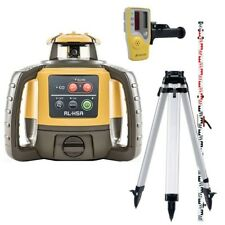 Topcon RL-H5A Rotating Laser Kit  Tripod & Staff contact us for special deal