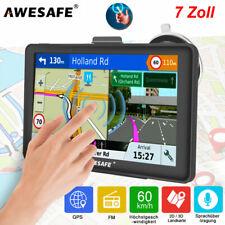 7'' Awesafe GPS Navi Navigation für Auto Truck PKW Navigationsgerät 8GB EU Karte