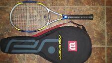 New Wilson Hps Hyper Pro Staff 6.7 racket strung (specs same Hps 6.6) Mp 95 5/8