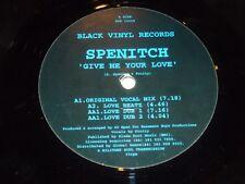 """Spenitch-Dame Tu Amor-Reino Unido 4-track 12"""" SINGLE VINILO"""