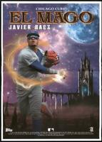 2020 Archives Box Topper Mini Poster  Javier Baez - Chicago Cubs