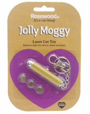 Rosewood Interactive Laser Cat Toy, Attach To Keys, With Replacement Batteries