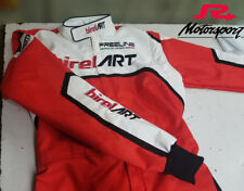 For Birel art fans kart racing suit with Gloves -All sizes printed suit