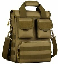 Tactical Briefcase Military Laptop Messenger Shoulder Strap Bag Handbag Outdoor