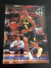 1994 Classic 4 Sport JALEN ROSE RC #13 ~ Michigan / Nuggets rookie card ~ F1