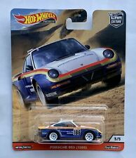 HOTWHEELS NEW CAR CULTURE ALL TERRAIN 1986 PORSCHE 959  ALLOYS RUBBER TYRES