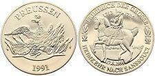 1991 FREDERICK GREAT FRIEDRICH GROSSE GERMAN PRUSSIA COIN TOKEN GERMANY PREUSSEN
