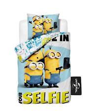 Despicable Me Minions Believe in Selfie Childrens Single Quilt Duvet Cover Set