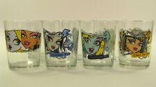 9 Gläser - MONSTER HIGH 4 Sammelgläser und 5 normale Trinkgläser - Sonderedition