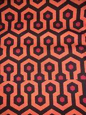 "Shining Carpet Redrum 100 % Cotton Fabric  9""x56"" Horror - NEW"
