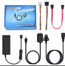 """SATA PATA IDE to USB 2.0 Adapter Converter Cable For 2.5"""" 3.5"""" Hard Drive Disk"""