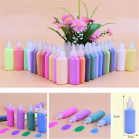 12/24 Bottles Pack 40g for Painting Drawing Sand Art Mixed Colors Craft Toys TD