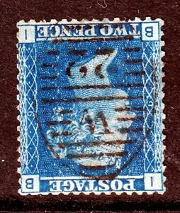 SG45Wi 2d Blue Plate 9 Inverted W/M(345)