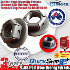 Front Hub Wheel Bearing Nut + Washer for Ford Falcon AU BA BF Fairmont Fairlane