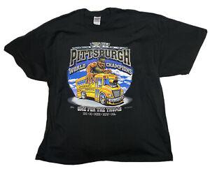 NWOT VTG Pittsburgh Steelers 2006 World Champions Shirt Men's Size 3XL Bettis