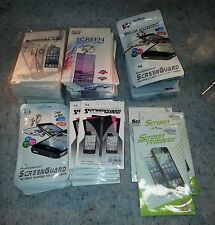 200+ lot of thin film plastic screen protectors for touch screen phones