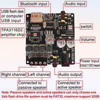 HIFI Stereo Bluetooth5.0 Digital Power Amplifier Board Module TPA3116 50Wx2
