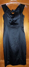 New The Limited Sz 0 Dress Black Sleeveless Knee Length Cocktail Formal Sheath