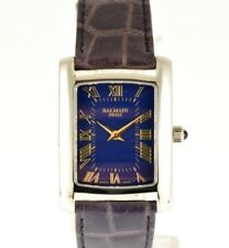 Pierre Balmain Watch - Rectangular - Azul - NEW (NOS)
