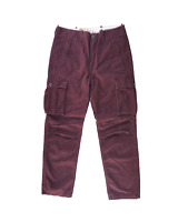 NEW MENS LEVIS RELAXED FIT ACE CARGO TWILL PANTS VIOLET PURPLE 124620039