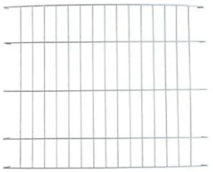 Ellie-Bo Silver Divider for 30 inch Medium Dog Crate Cage