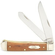 CASE XX KNIVES 2015 SMOOTH ANTIQUE BONE TRAPPER KNIFE #58182 USA