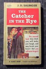 1960 THE CATHER IN THE RYE by J.D. Salinger 14th Signet D1667 Paperback VG+
