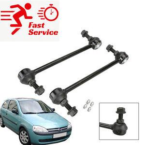 2x Front Heavy Duty Anti Roll Bar Drop Link Vauxhall/Opel Combo Corsa C Vectra B