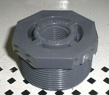 """2"""" x 1/2"""" Threaded Bushing Schedule 80 PVC Spears or Lasco 839-247 SCH SCHED"""
