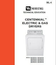 MAYTAG CENTENNIAL DRYER ELECTRIC & GAS SERVICE/REPAIR MANUAL