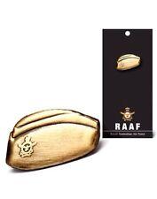 RAAF- The Royal Australian Airforce Antique Copper Cap Lapel Pin *ANZAC Day*